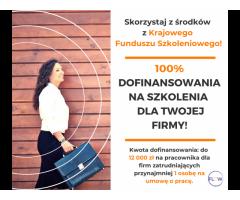 Szkolenia i konsultacje biznesowe dofinansowane w 100% z UE