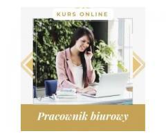Pracownik biurowy- kurs internetowy Cała Polska