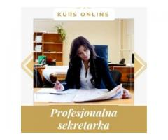 Profesjonalna sekretarka - kurs online