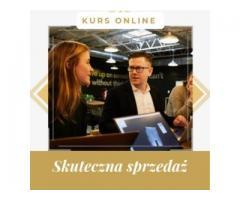 Skuteczna sprzedaż - kurs internetowy. Cała Polska