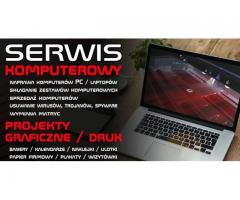 Naprawa Komputerów / Serwis z dojazdem TANIO!
