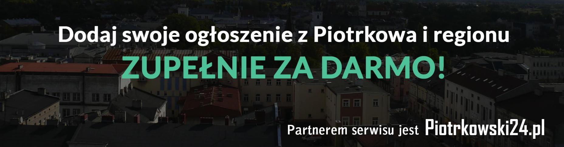 MojPiotrkow.pl - Ogłoszenia